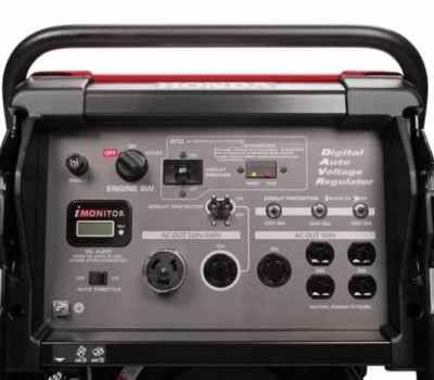 Honda Eb10000 power generator control panel
