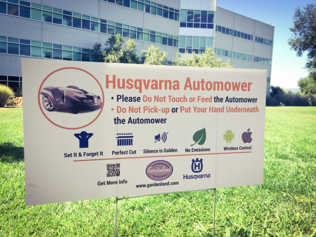 Husqvarna Automower 450x installation video