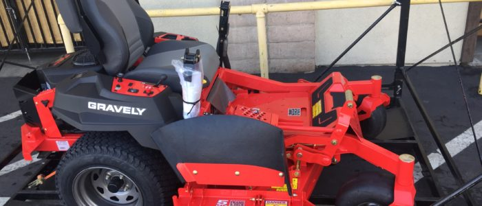 Gravely Pro-Turn lawn mower