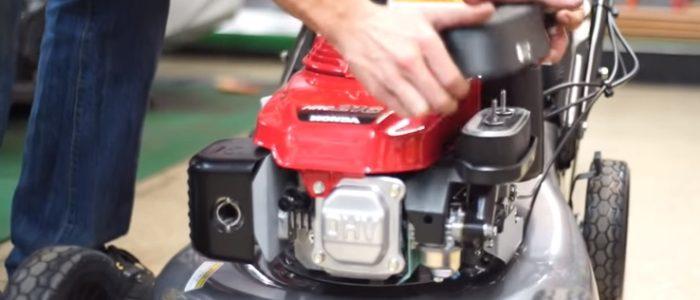 Honda HRC216HXA lawn mower