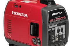 Honda EU2200i gas powered generator