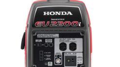 Honda EU2200i generator front panel