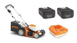 Stihl RMA 510 Battery Powered Mower Kit (mower + battery, 1/2 second battery + charger)