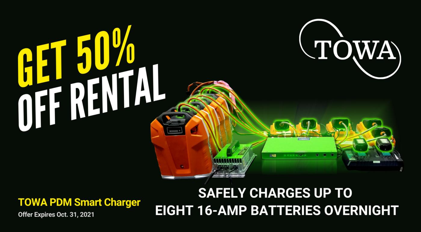 towa-battery-smart-charger-pdm-50-off-rentals-gardenland-power-equipment